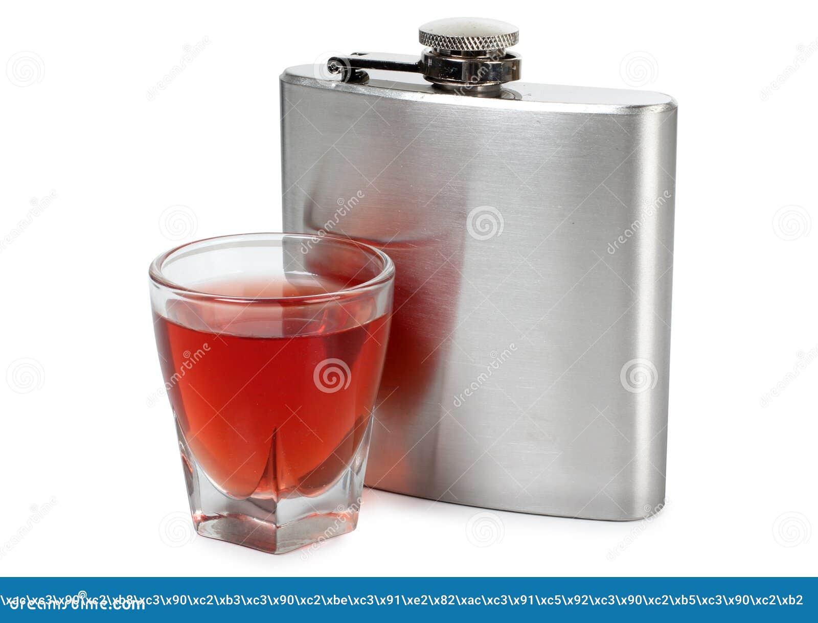 Fles en whisky