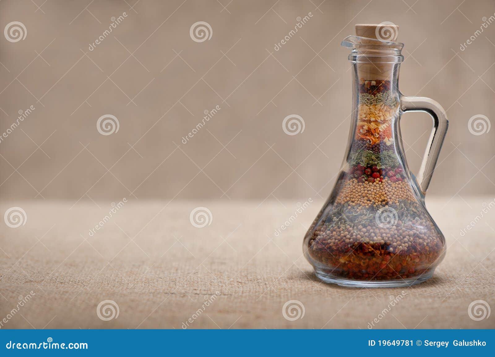 Fles van kruiden