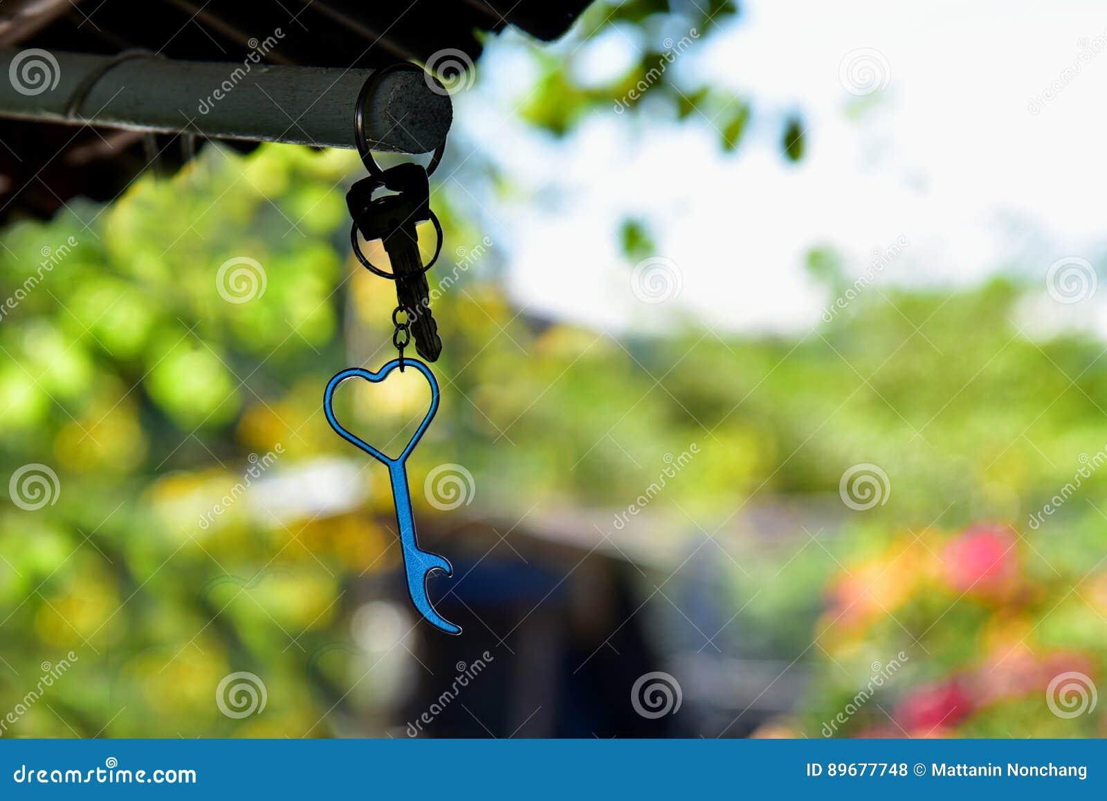 Flesopener en sleutelring
