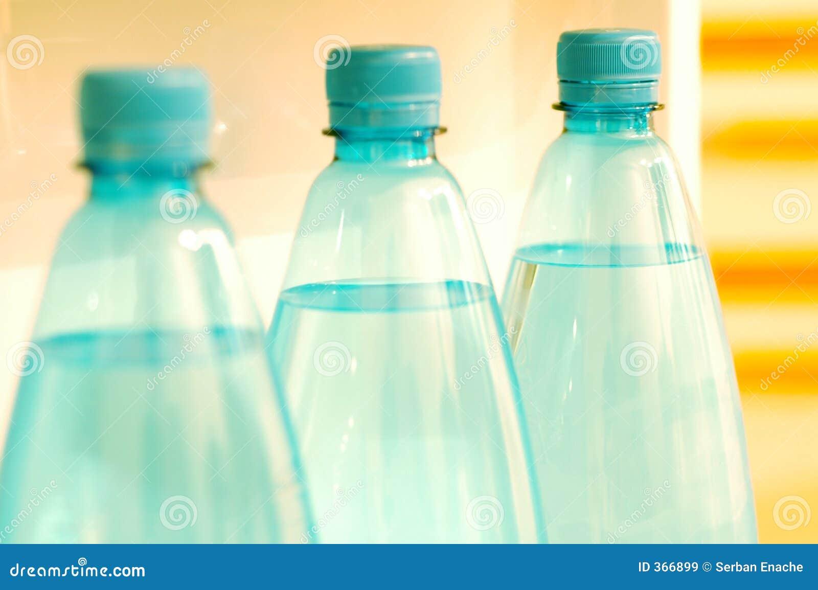 Flessen 2 van het water