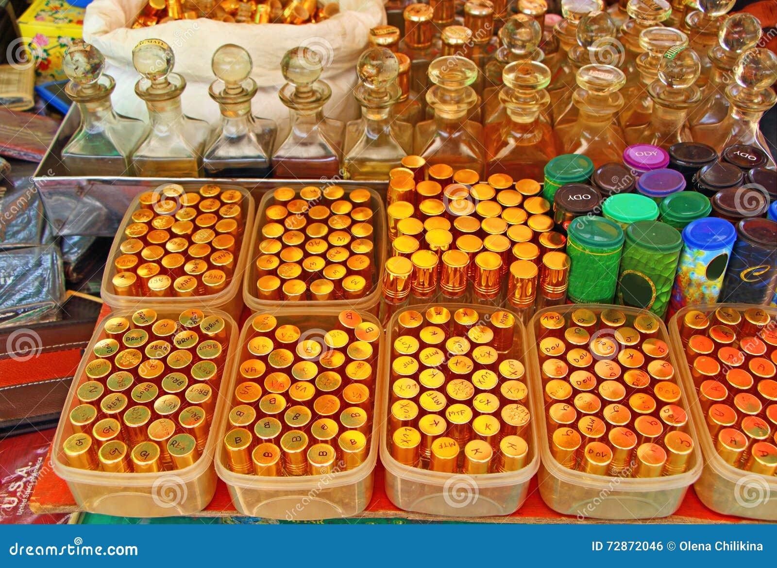 Flessen van het glas de blauwe parfum India Goedkope verkoop