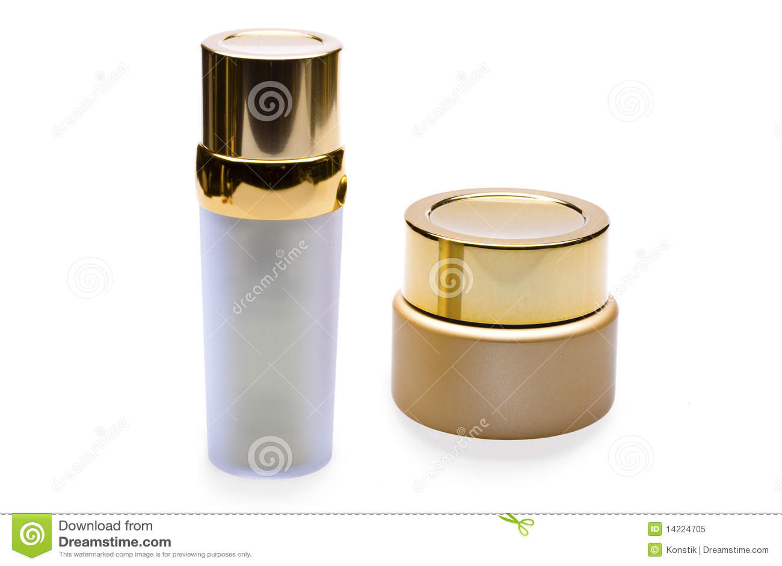 Flessen voor schoonheidsmiddelen
