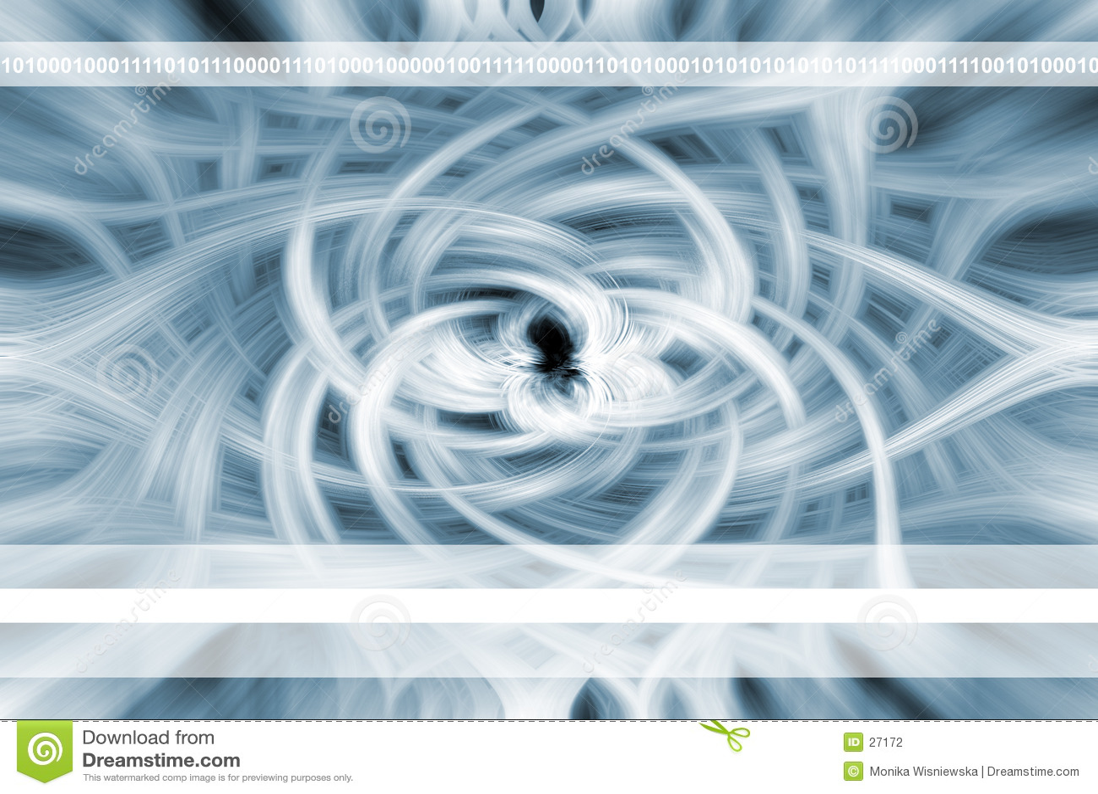 Fleur abstraite - fond