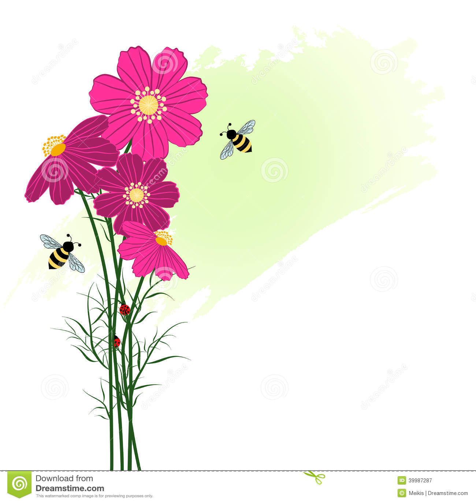 illustration printemps