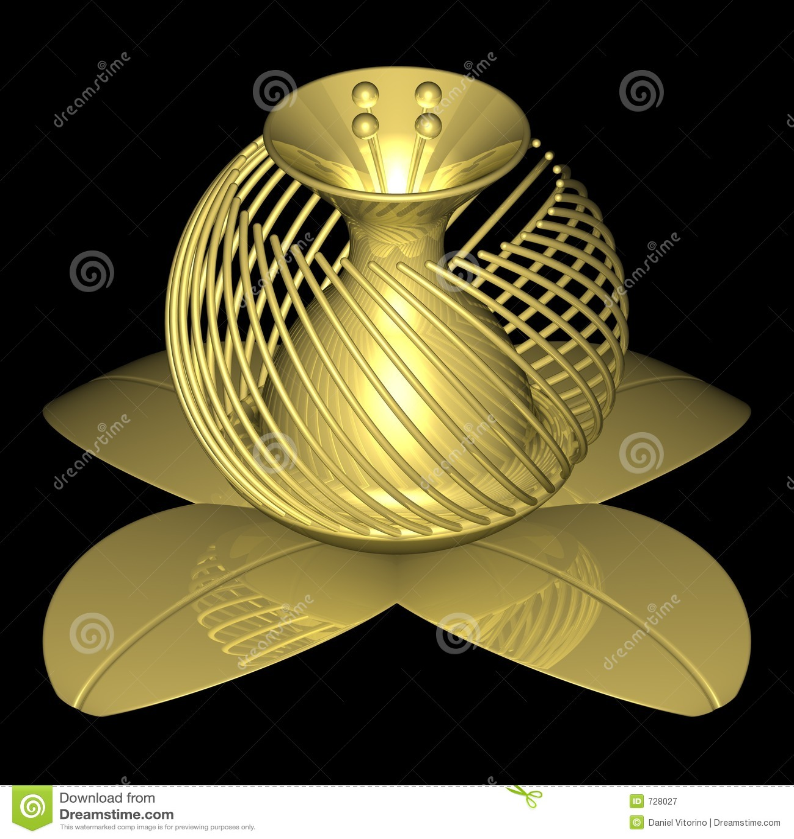 Fleur d or 003