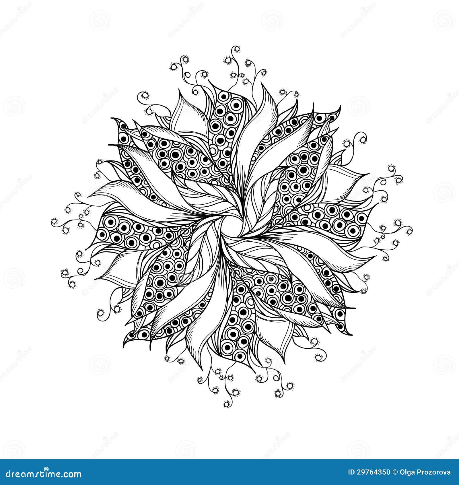 fleur d 39 imagination mod le noir et blanc de tatouage. Black Bedroom Furniture Sets. Home Design Ideas