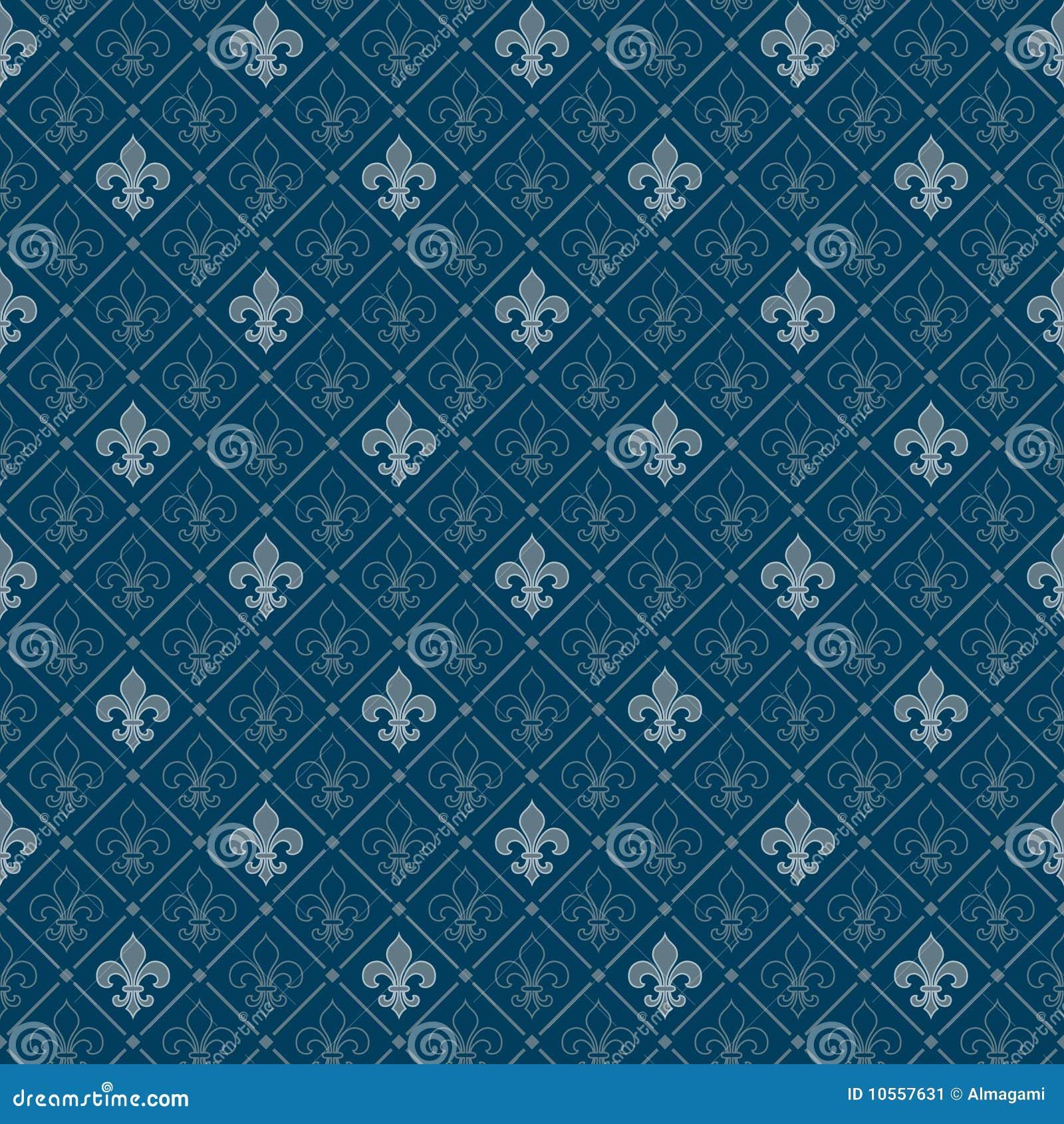 Fleur De Lis Pattern Stock Image Image 10557631