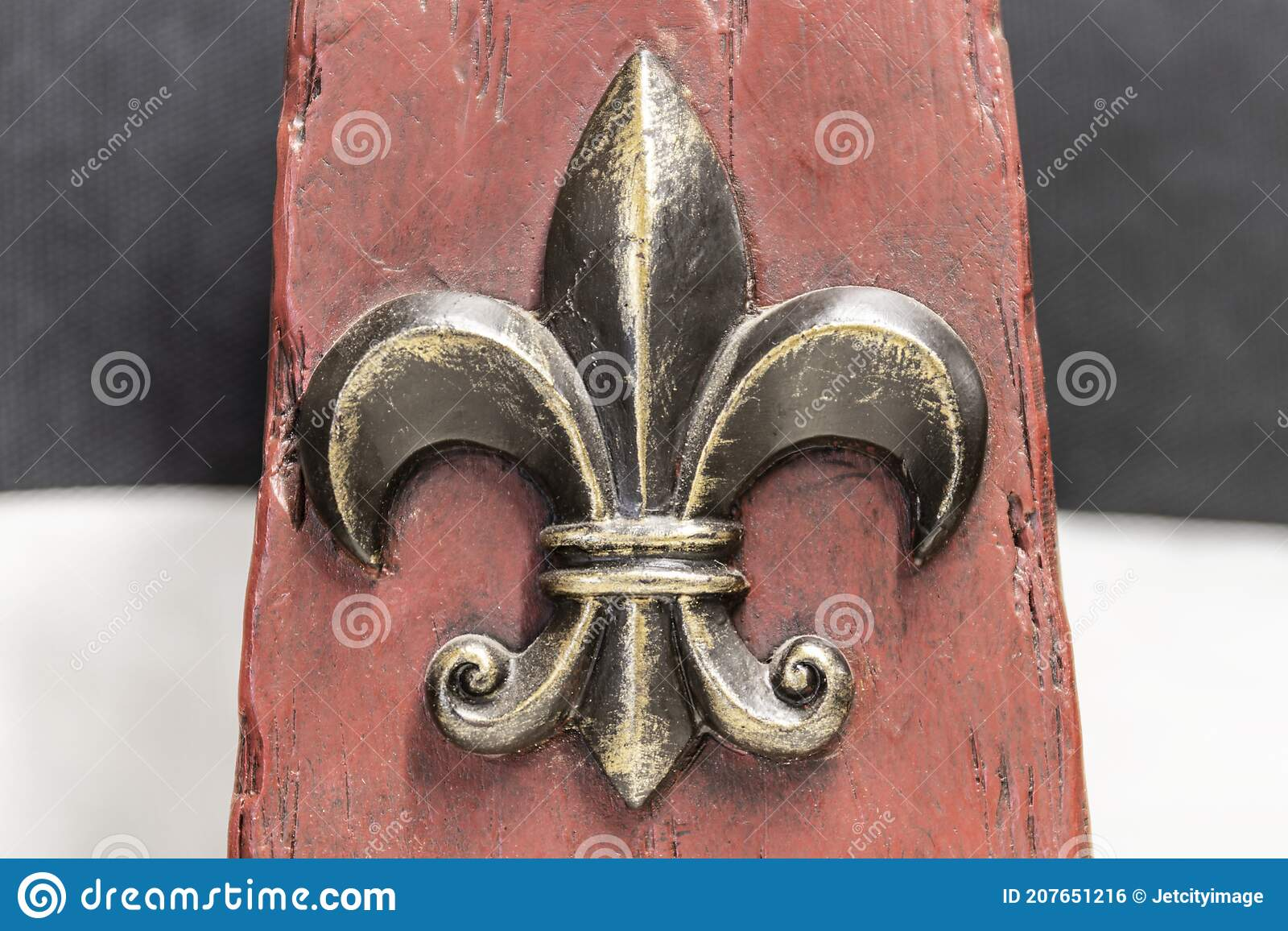 8x12 FT Fleur De Lis Vinyl Photography Background Backdrops,Royal Legend Lily Throne France Empire Family Insignia of Knights Image Background for Selfie Birthday Party Pictures Photo Booth Shoot