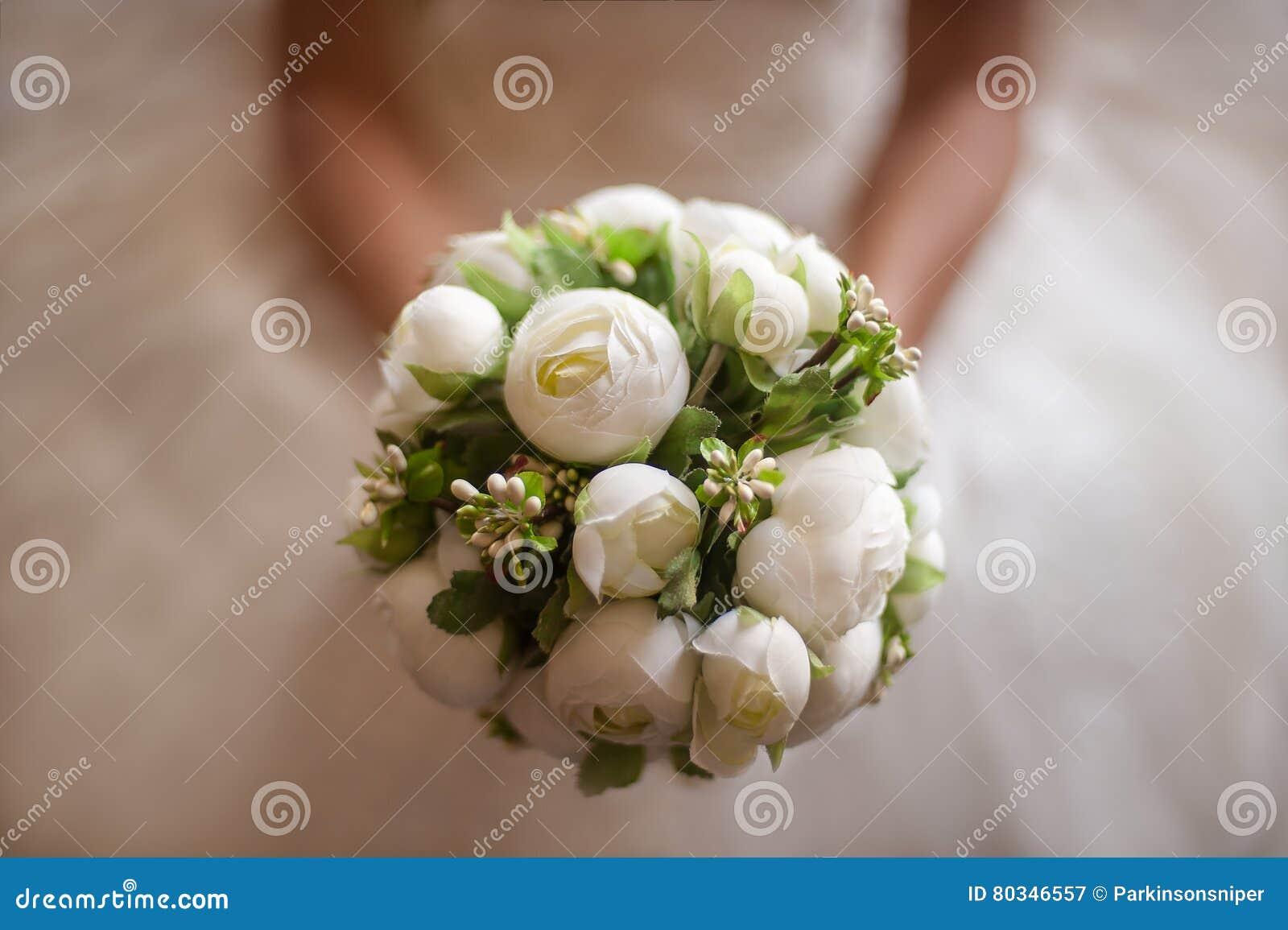 Fleur de mariage de jeune mariée