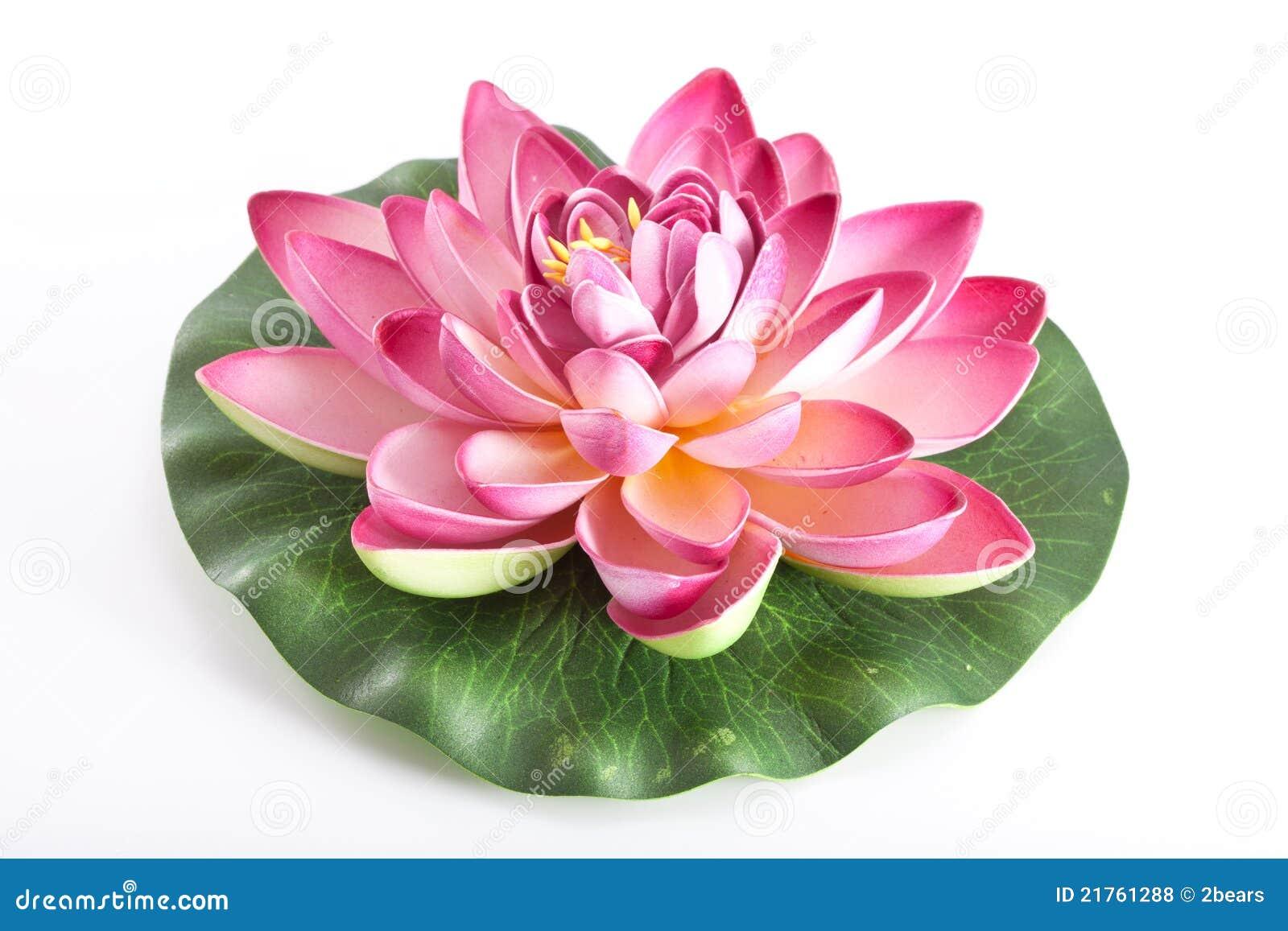 fleur en plastique d 39 un lotus photo stock image du fake. Black Bedroom Furniture Sets. Home Design Ideas