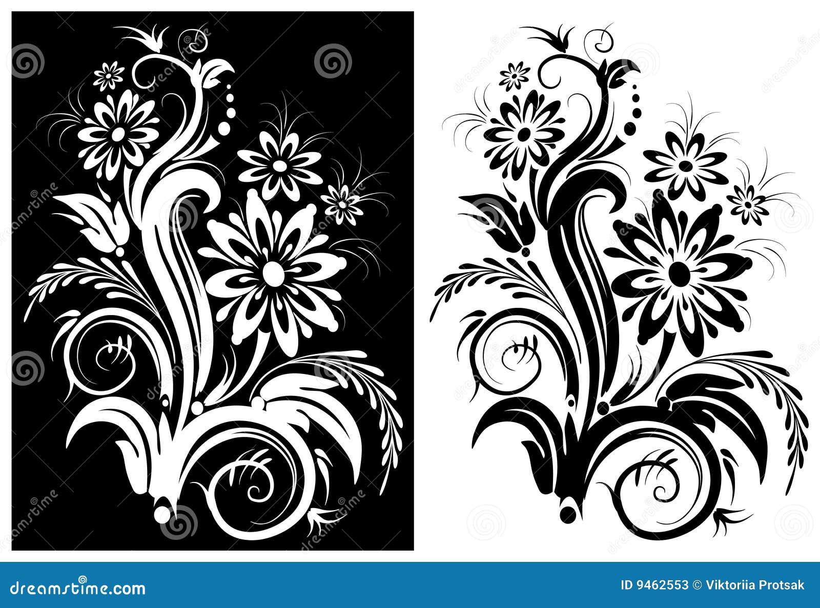 Fleur Stylisee Illustration De Vecteur Illustration Du Vecteur