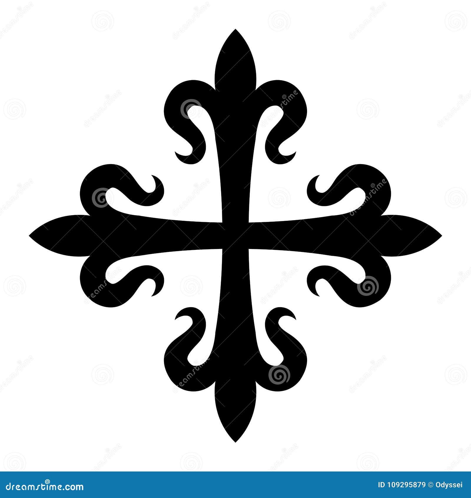 Fleurdelisée Croix