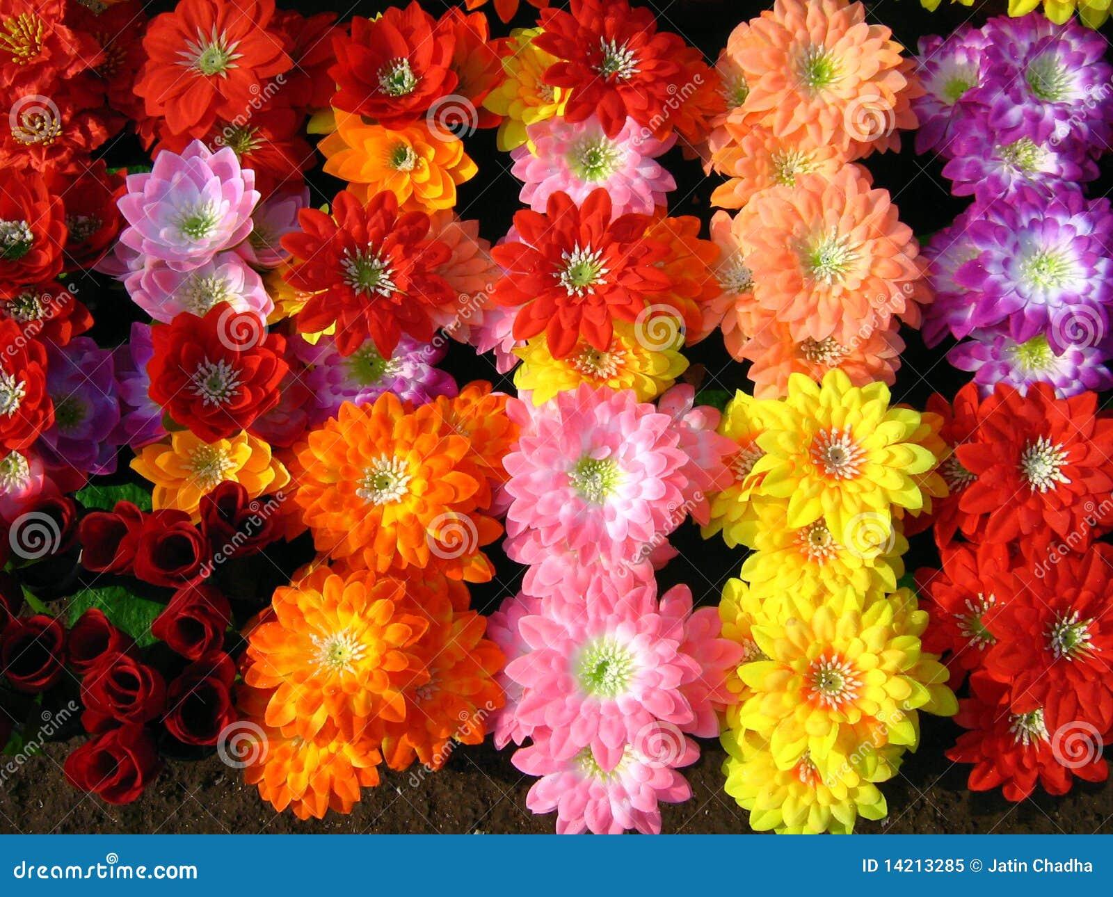 Fleurs artificielles image stock image du artificiel for Fleures artificielles