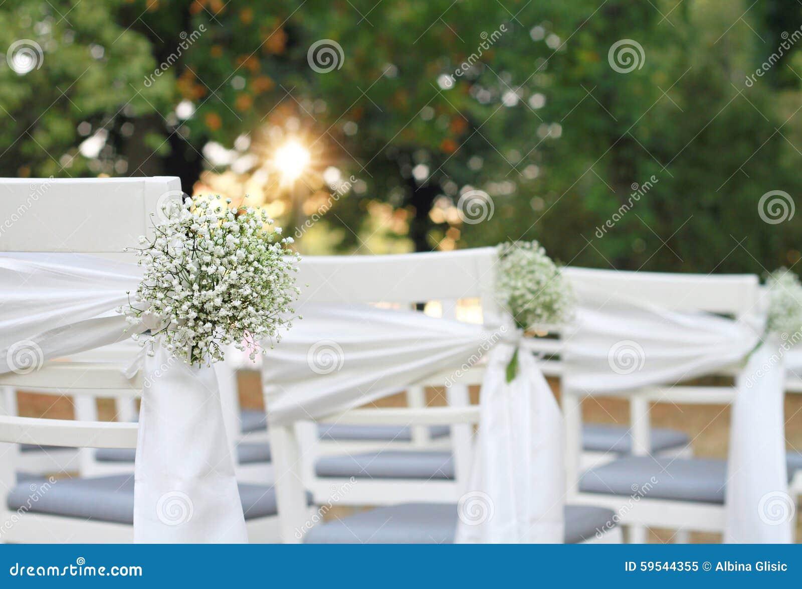 Decoration Chaise Exterieure Mariage