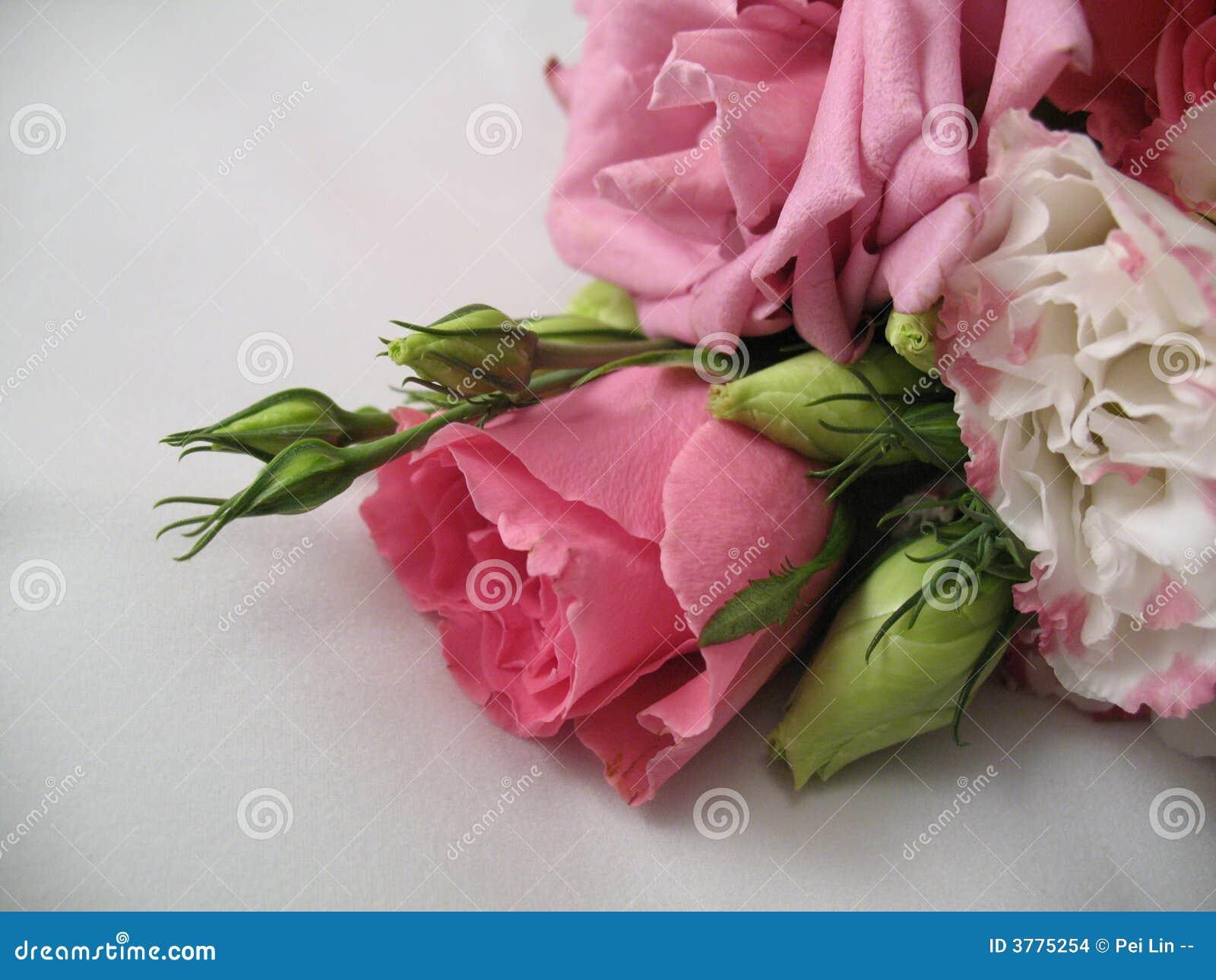 Fleurs d un bouquet de mariage