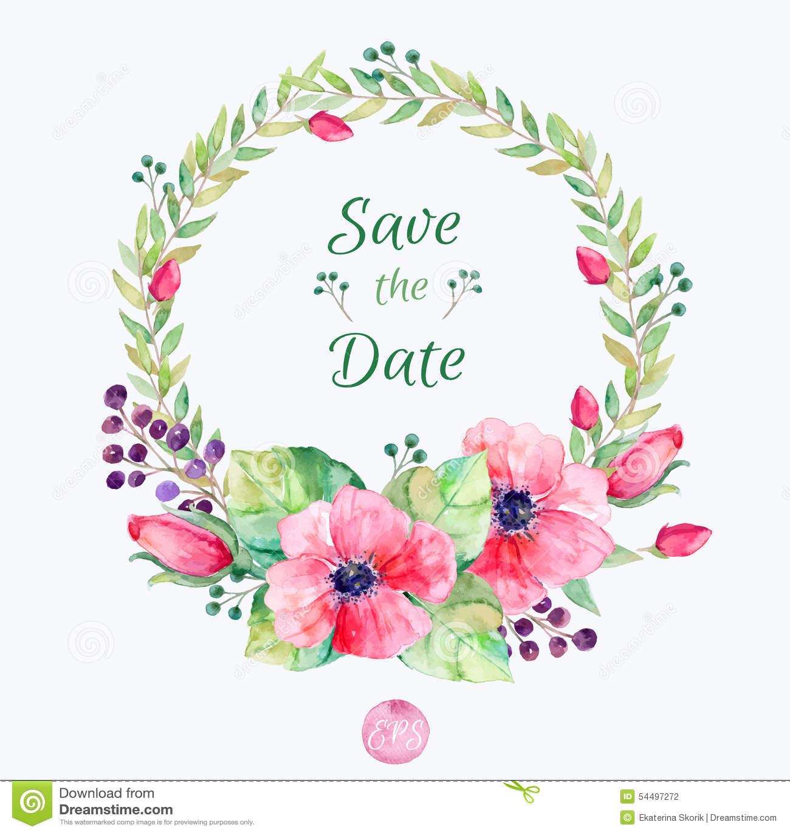 Fleurs De Vecteur Reglees Collection Florale Coloree Avec Des