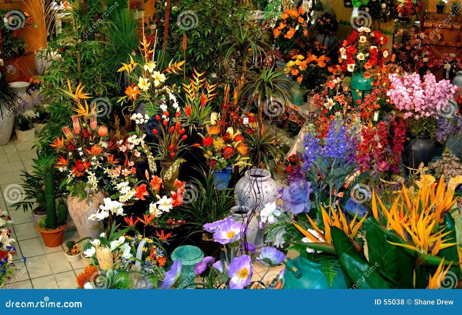 Download Fleurs en soie photo stock. Image du système, fake, couleur - 55038