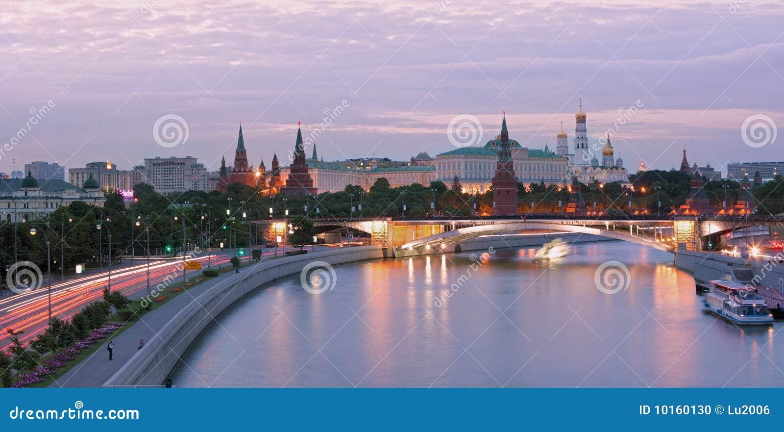 Fleuve de Moscou de centre