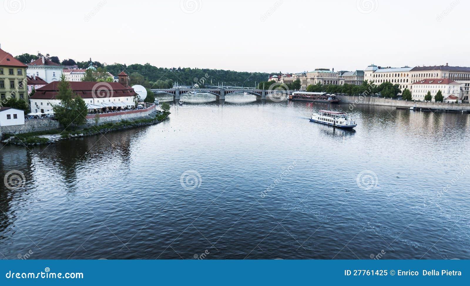 Fleuve de Vltava