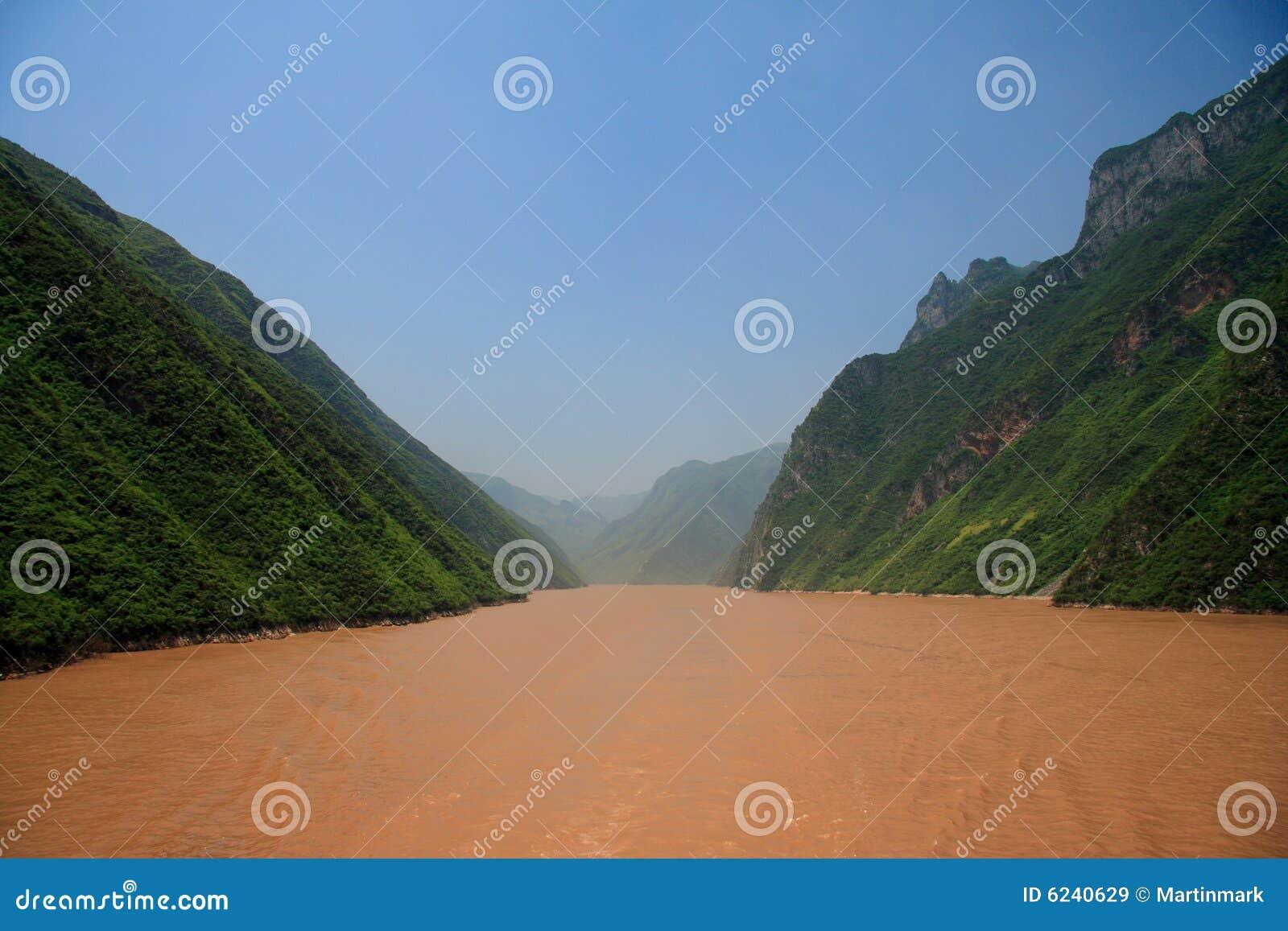 Fleuve de Yang Tsé Kiang