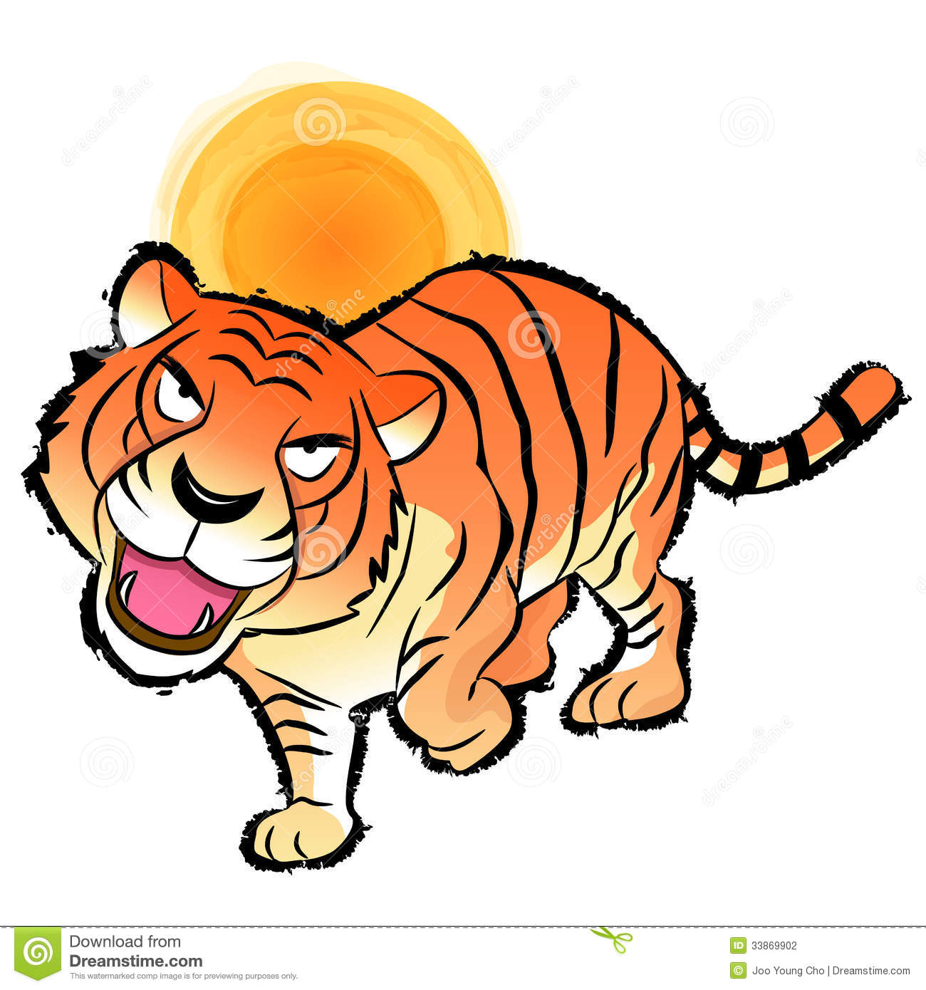 tiger pride clip art - photo #32
