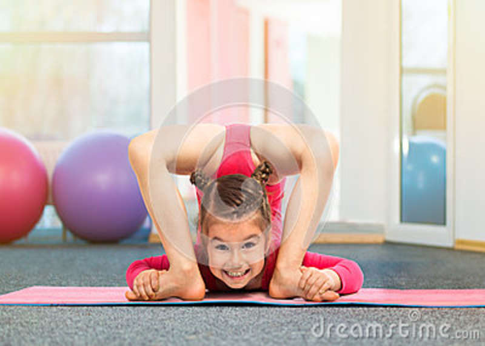 from Malaki flexible sport girl photo