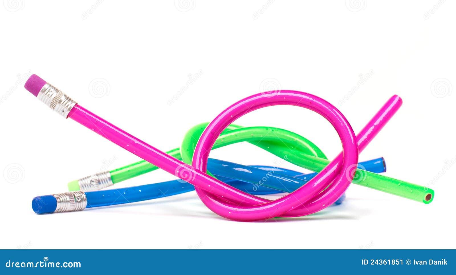 Draw A Plan Flexible Pencils Stock Image Image 24361851