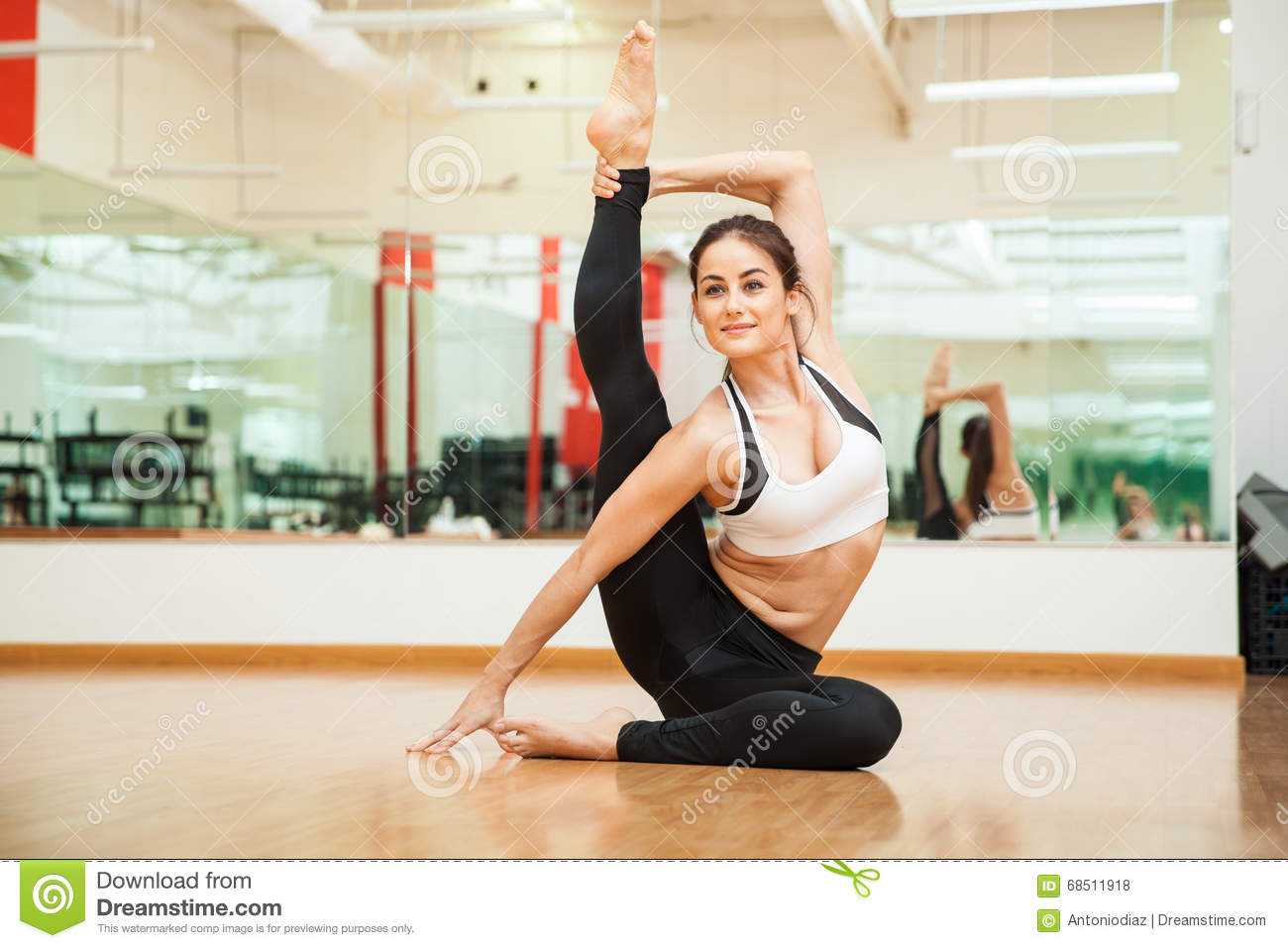 from Madden girls with flexible leg
