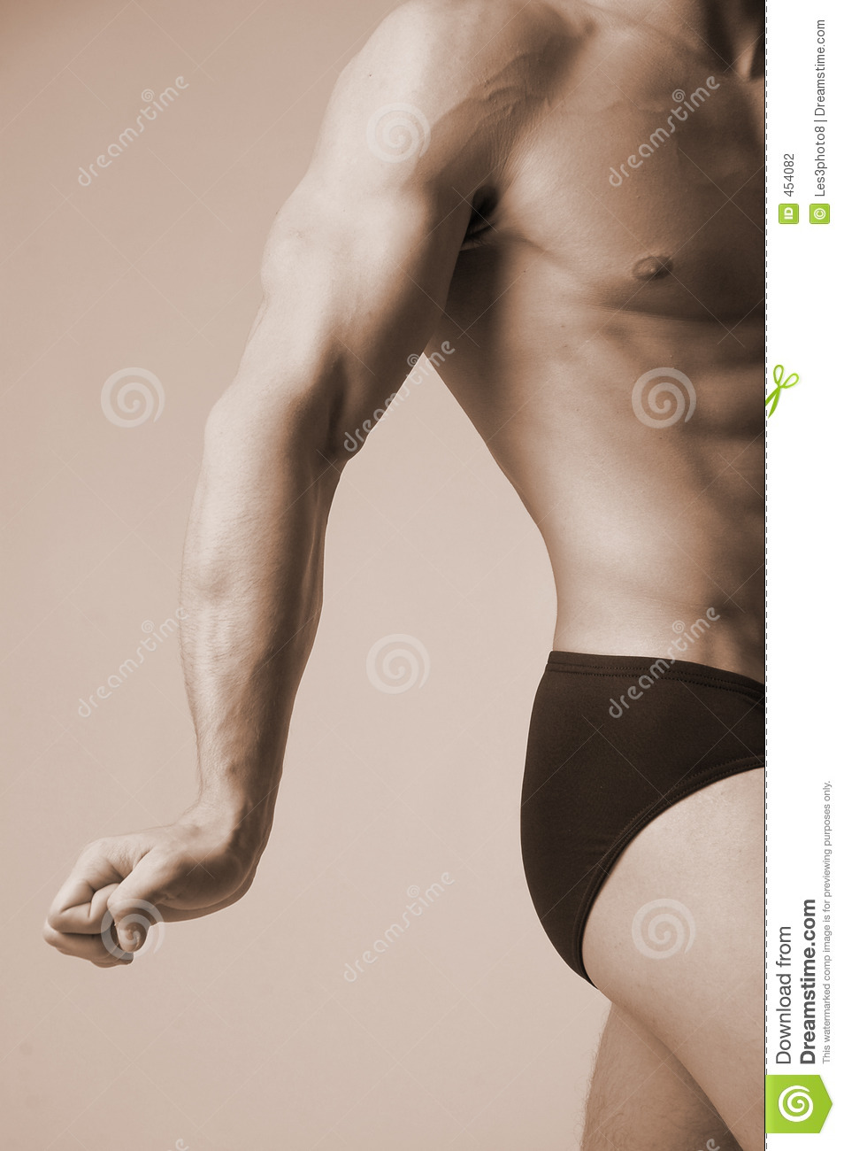 Download Flexing his muscle stock photo. Image of veins, massage - 454082