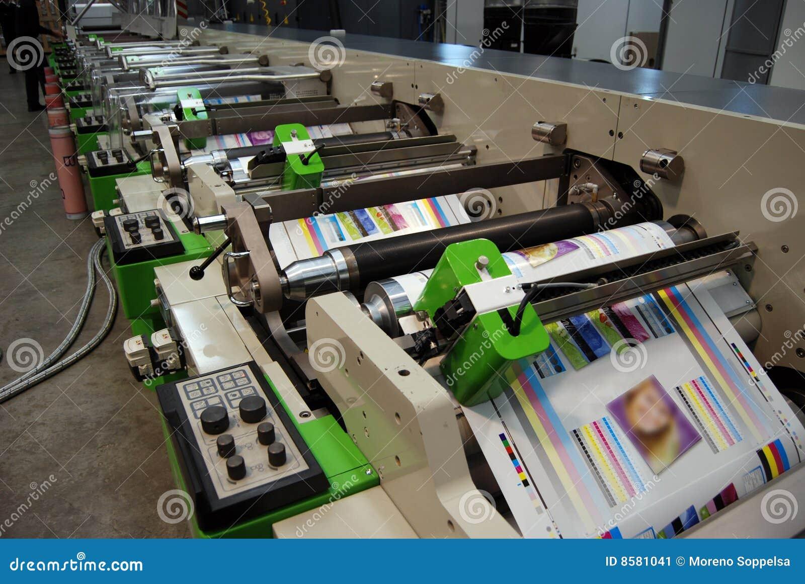 Flexo紫外新闻的打印