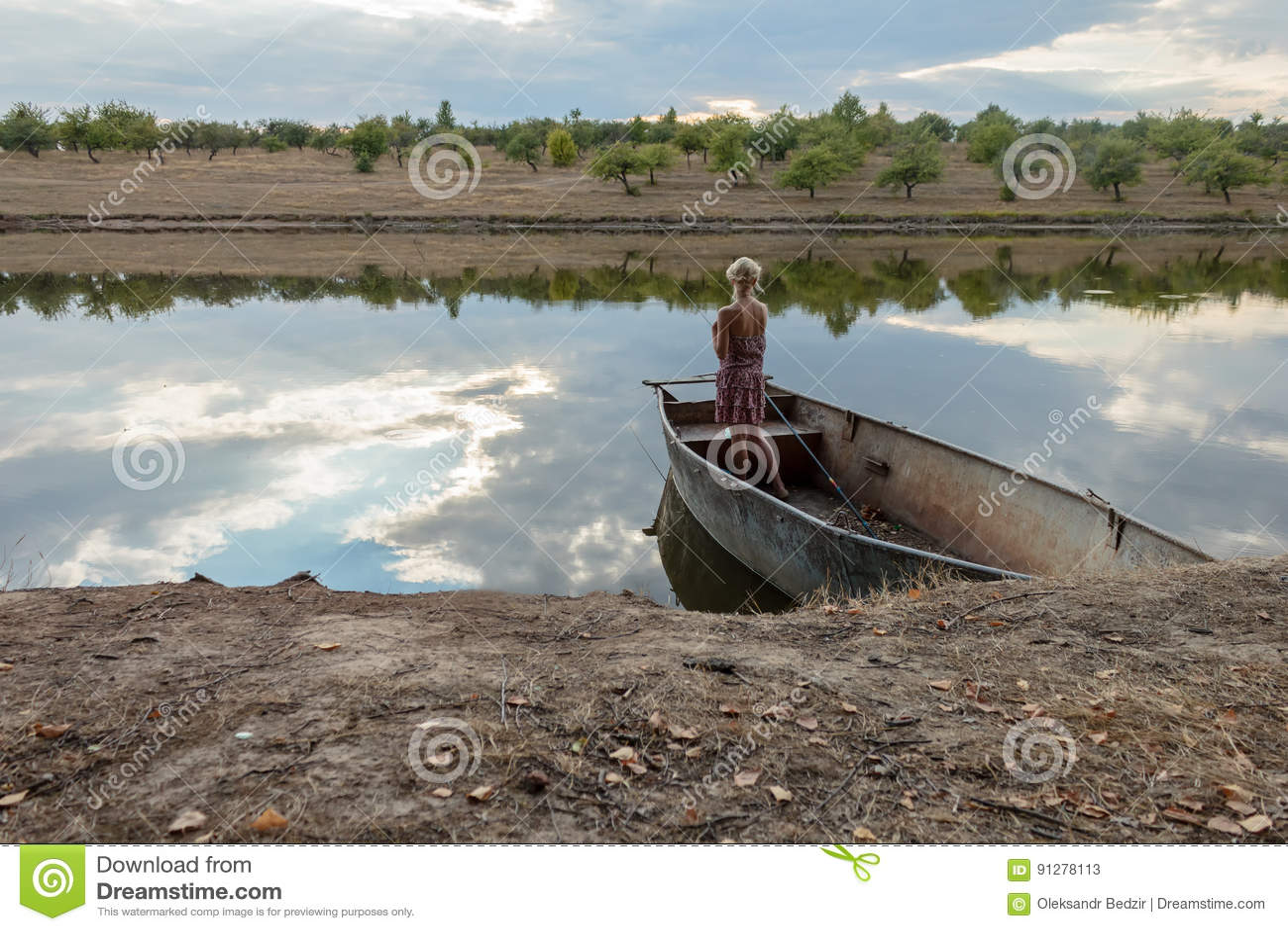 Flickaanseende i ett fartygfiske