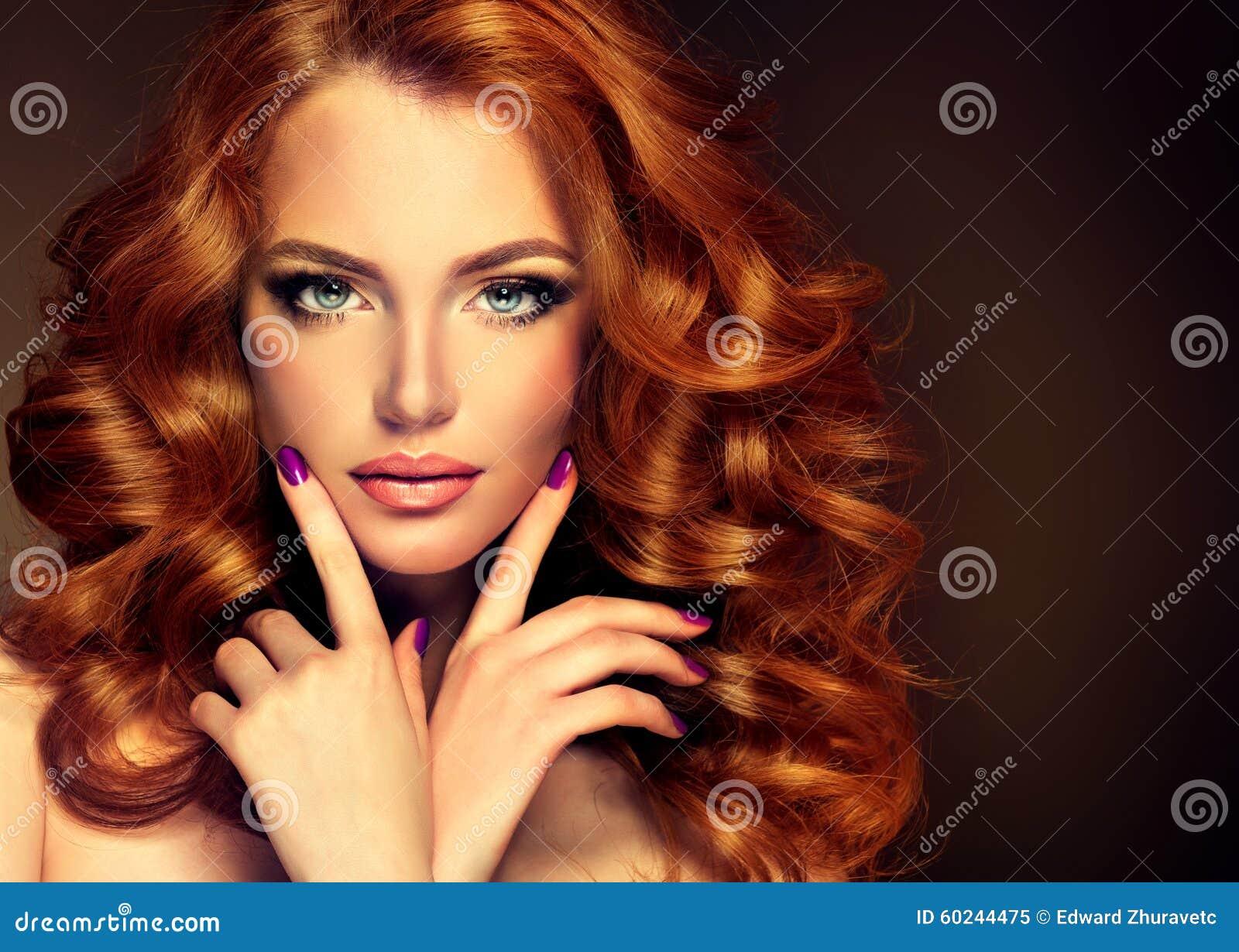 långt hår x betygsatt rött hår