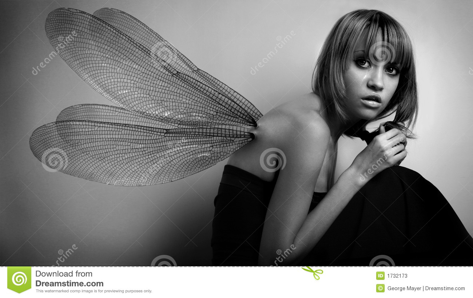Flickaståendevingar