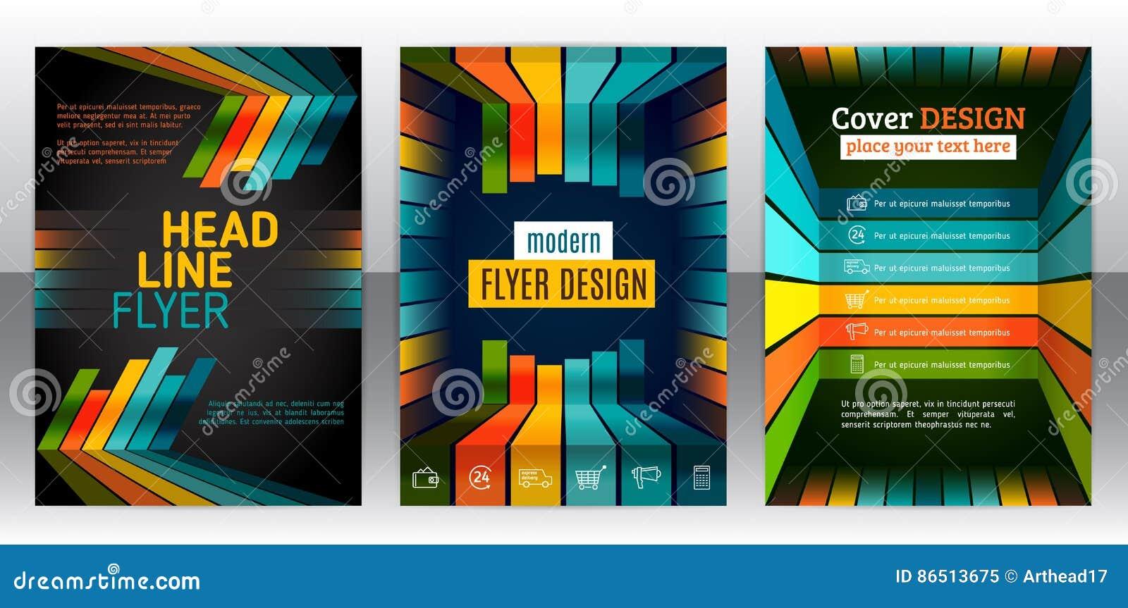 Flieger mit Linien, Streifen winken und Dynamik zu