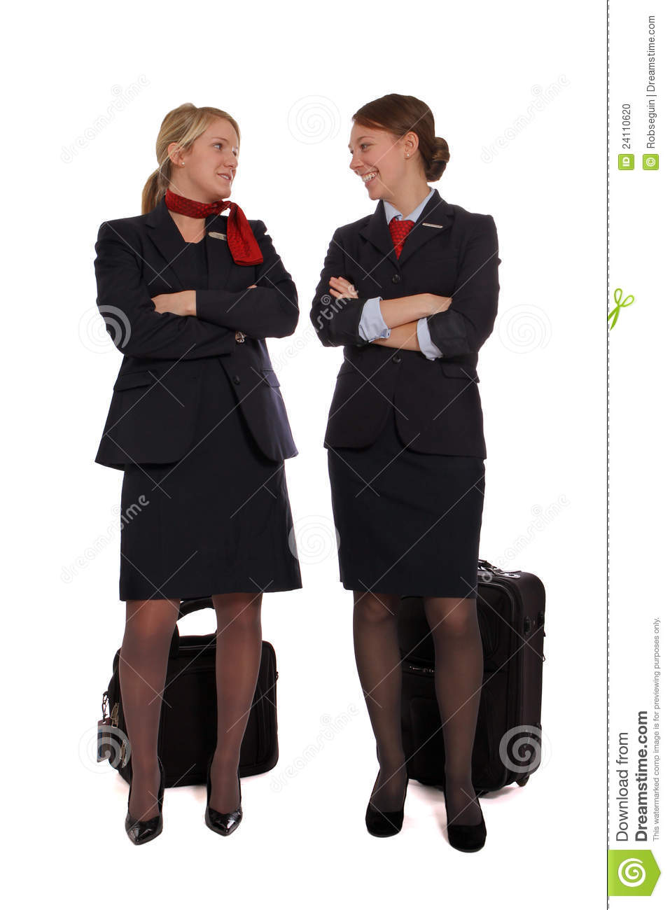 flight attendants talking together stock photo image 24110620 flight attendants talking together