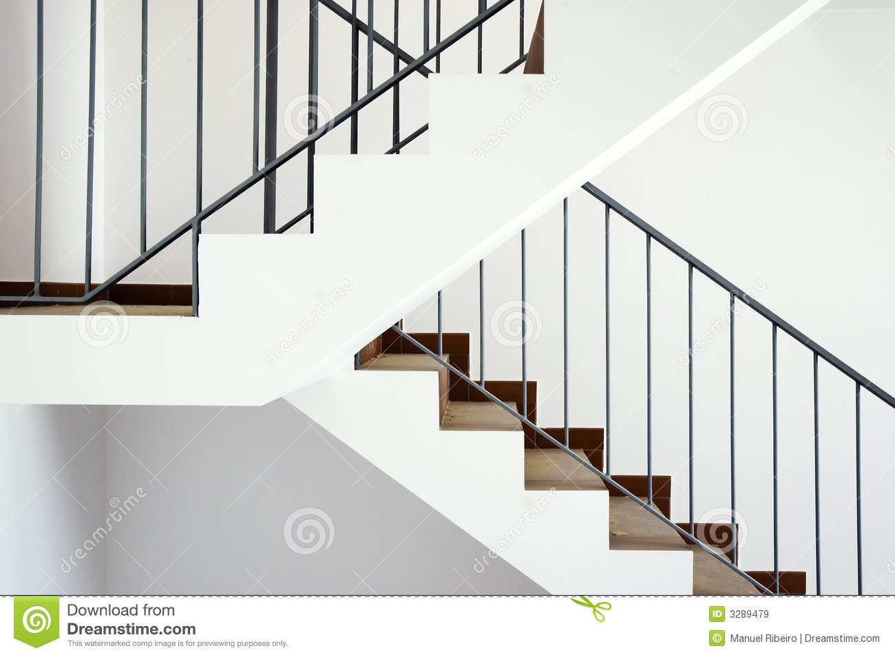 Flight Of Stairs Royalty Free Stock Images - Image: 3289479