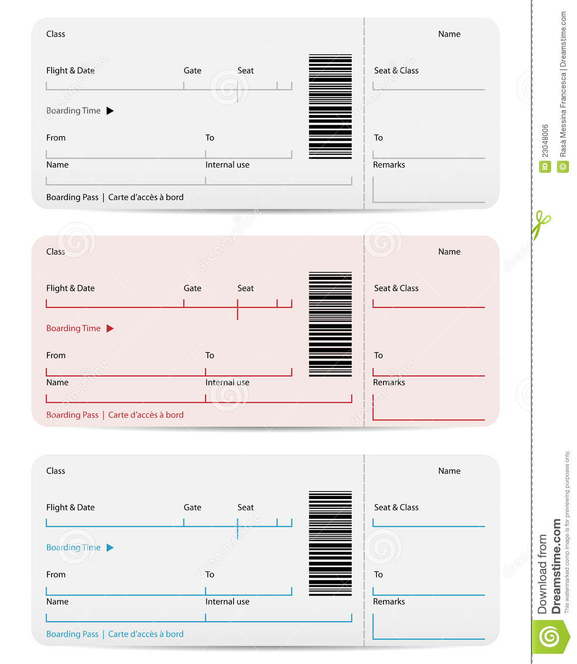 plane ticket template word - Military.bralicious.co