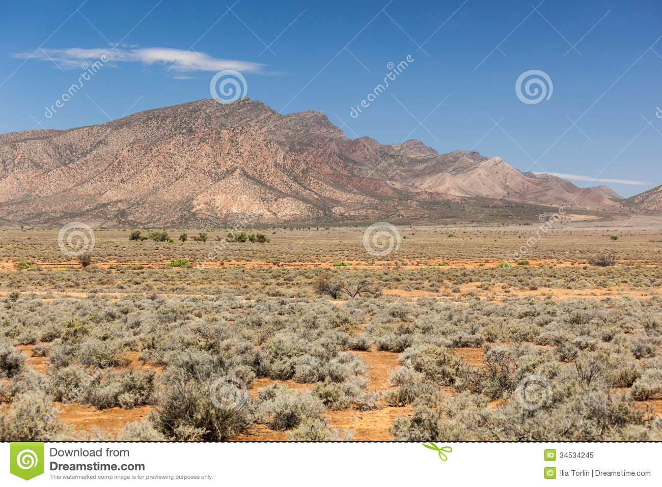 Flinders ranges landscape south australia stock image for South australia landscape