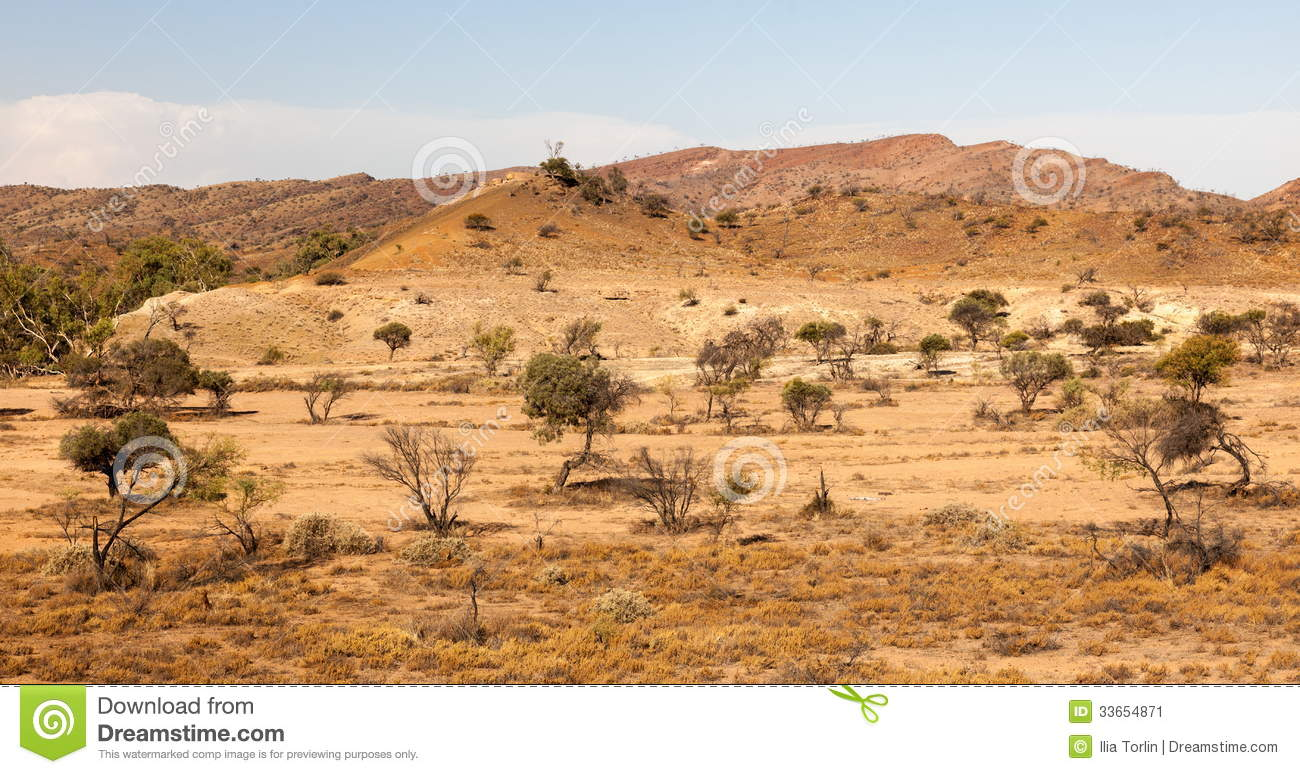 Flinders ranges landscape south australia royalty free for South australia landscape