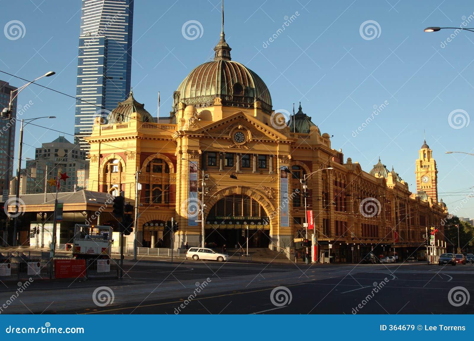 Flinders Street Station (IV)