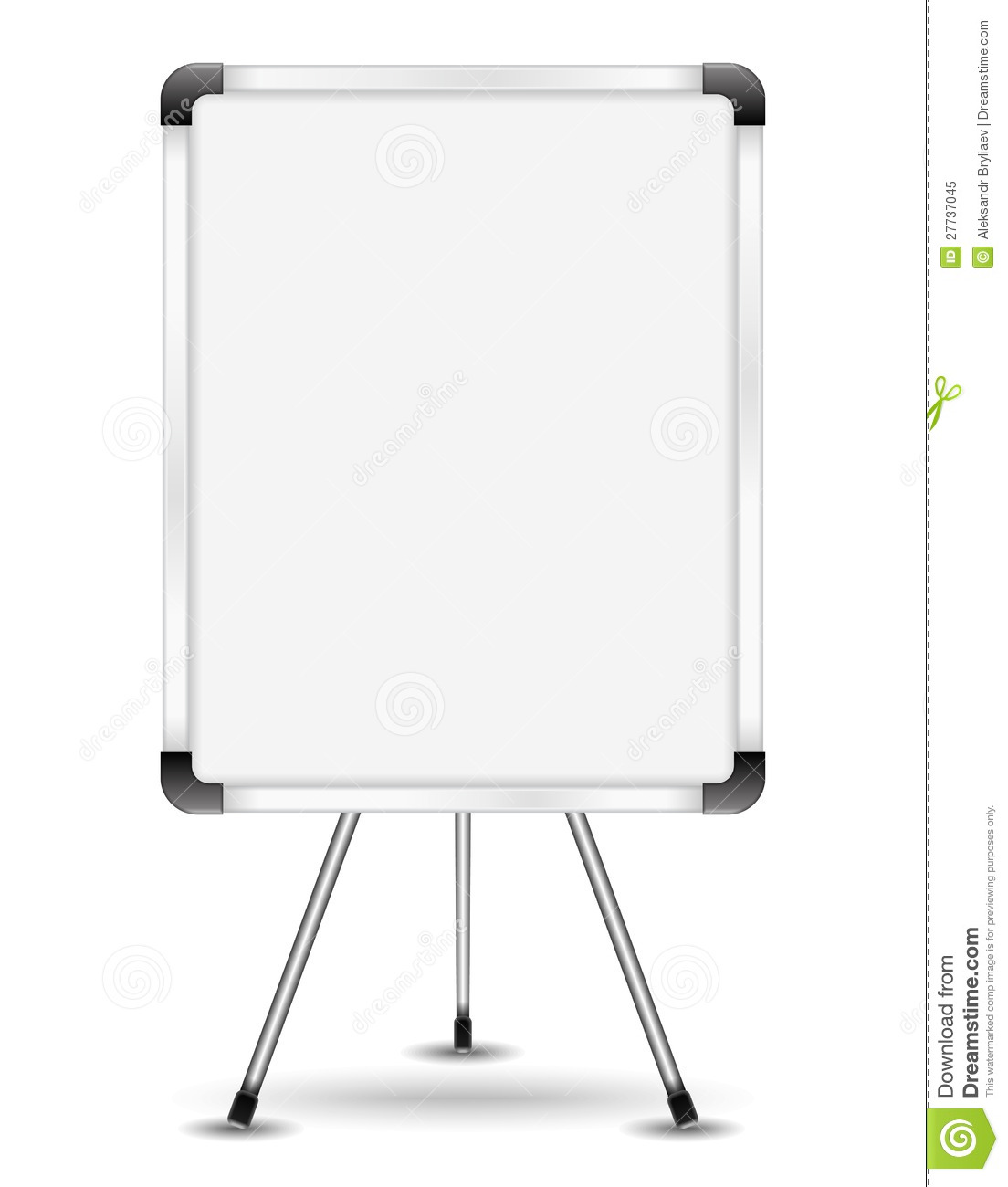 flip chart stock vector illustration of highschool design 27737045