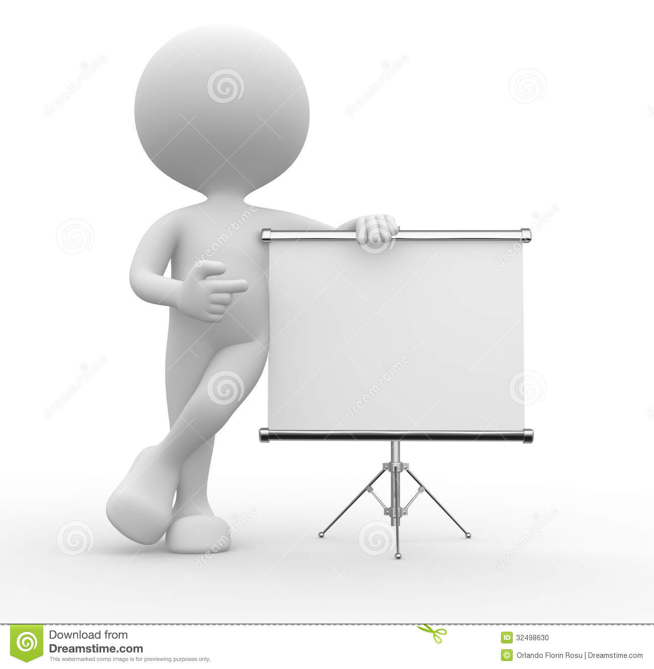 flip chart stock illustration illustration of paper 32498630