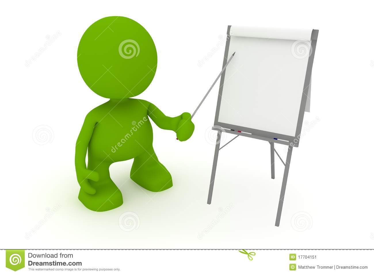 Illustration of a businessman presenting at a flipchart. Part of my ...