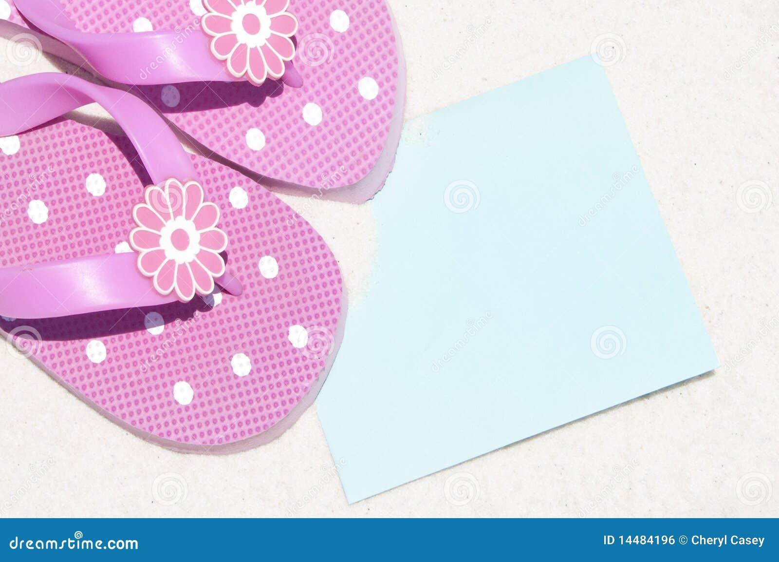 Flip flops by card