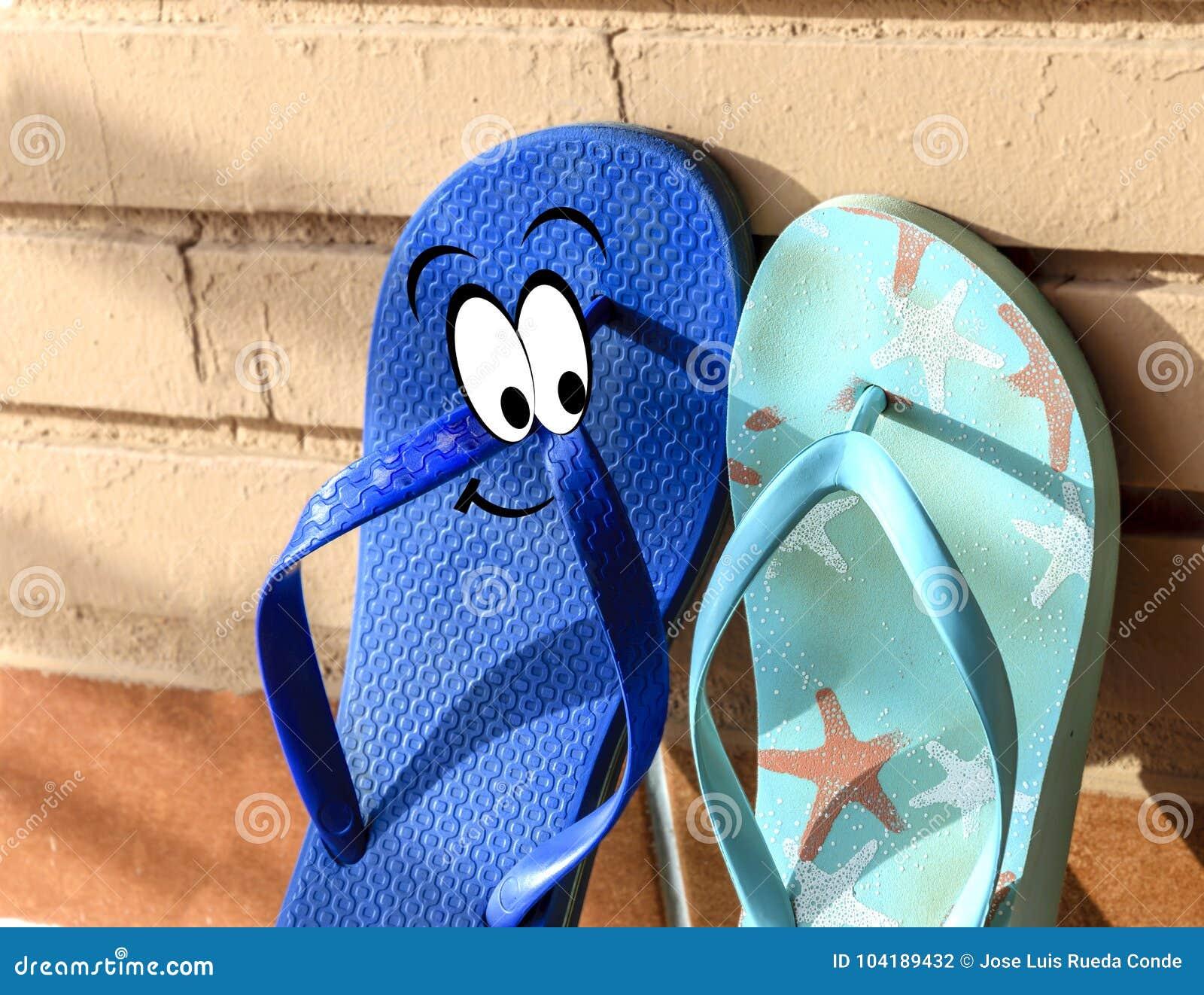 Males love flip flop