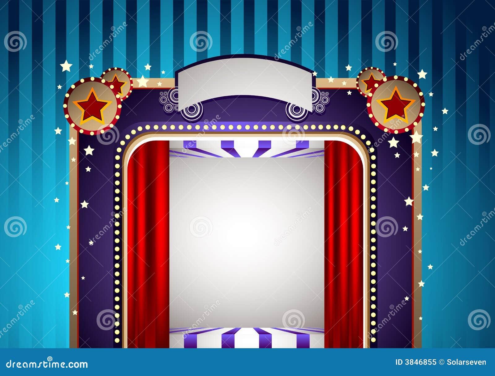 Flippige Theater Stufe