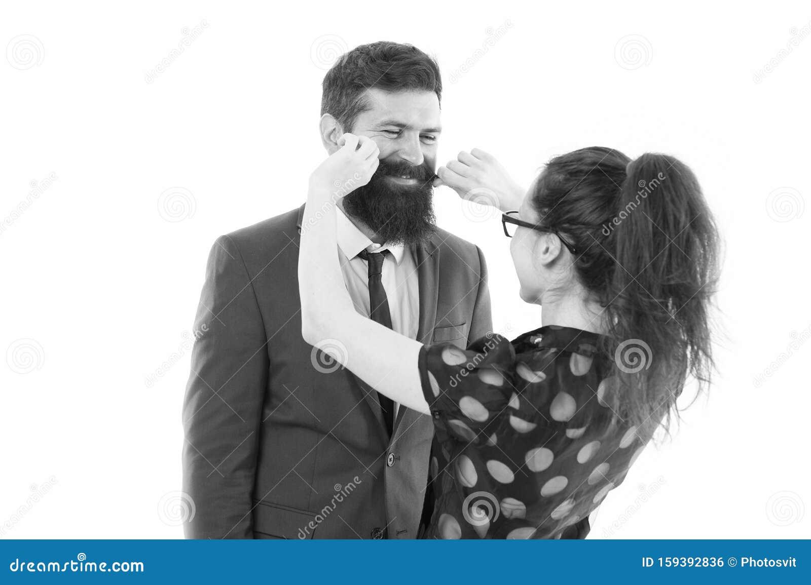 flirten im geschäft)