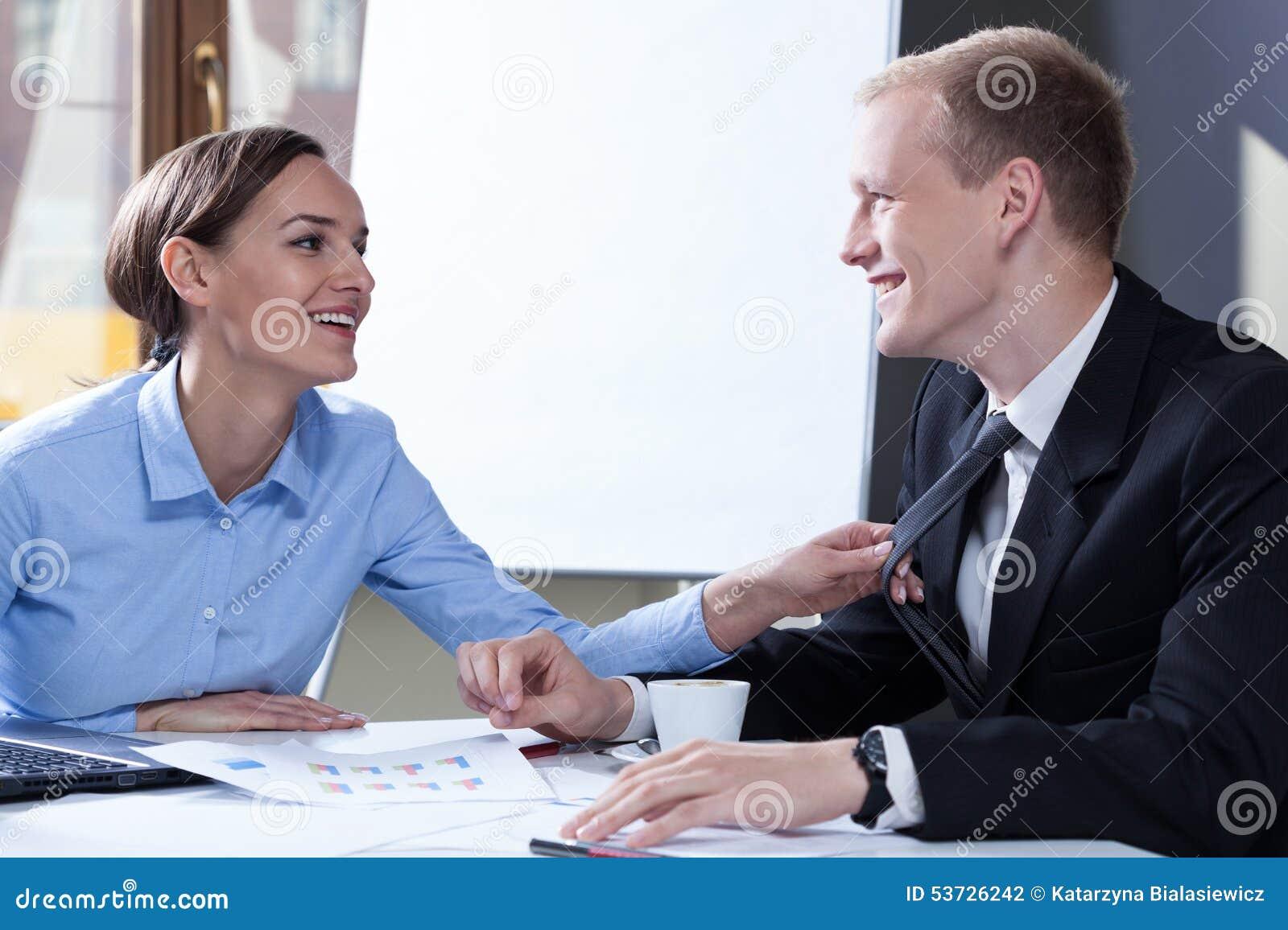 Flirten kollegen