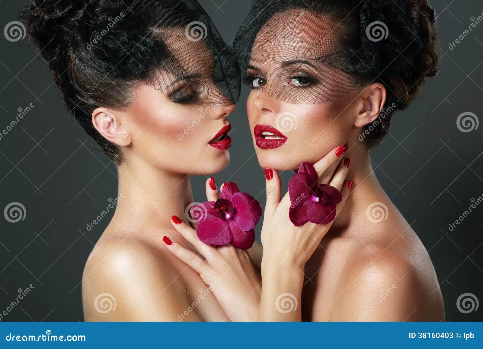 Store flirt møtte vrouwen
