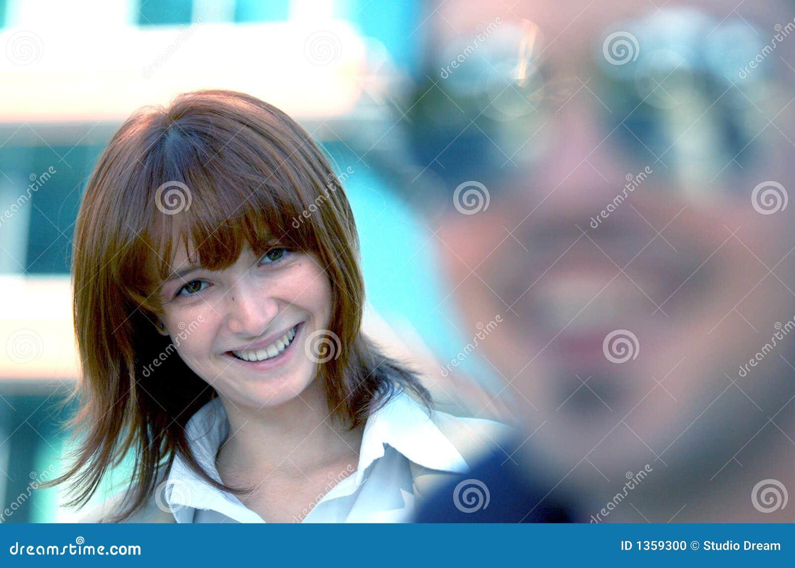 Flirtatious Smile